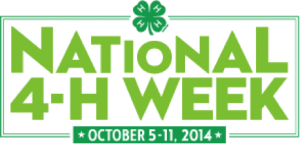 Cover photo for Granville County Youth to Celebrate  National 4-H Week October 5-11
