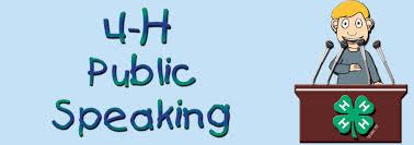 Public speaking logo image