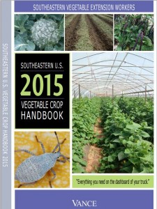 Cover photo for Southeastern Vegetable Crop Handbook