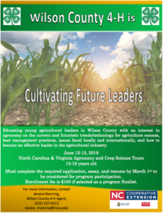 Cover photo for Cultivating Future Leaders--Program for Teens in Agriculture