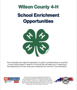 Cover photo for School Enrichment for Wilson County