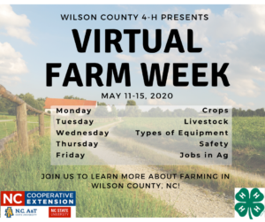 Cover photo for Virtual Farm Week