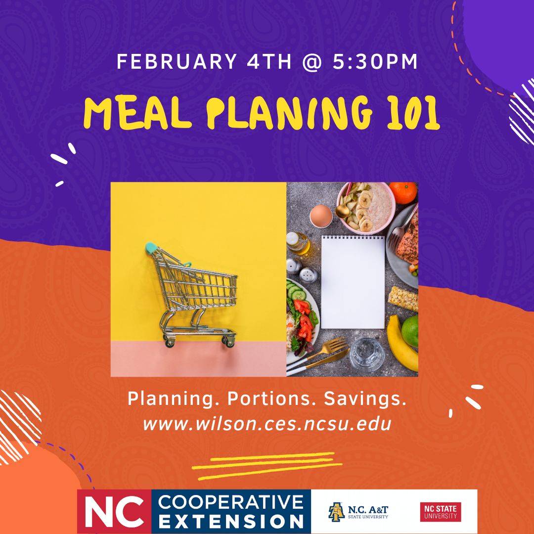 Meal Planning 101 flyer