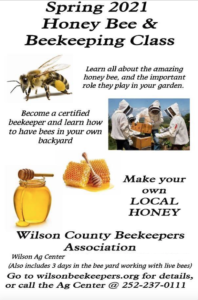 Cover photo for Wilson County Beekeepers Association Bee School